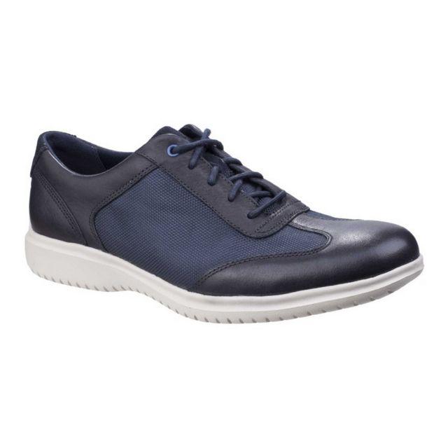 Rockport Chaussures lacées en cuir Dressports Ii - Homme 44,5 Eur, Bleu foncé Utfs5529