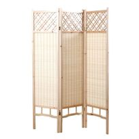 Miliboo - Paravent japonais en sapin et bambou New Niha