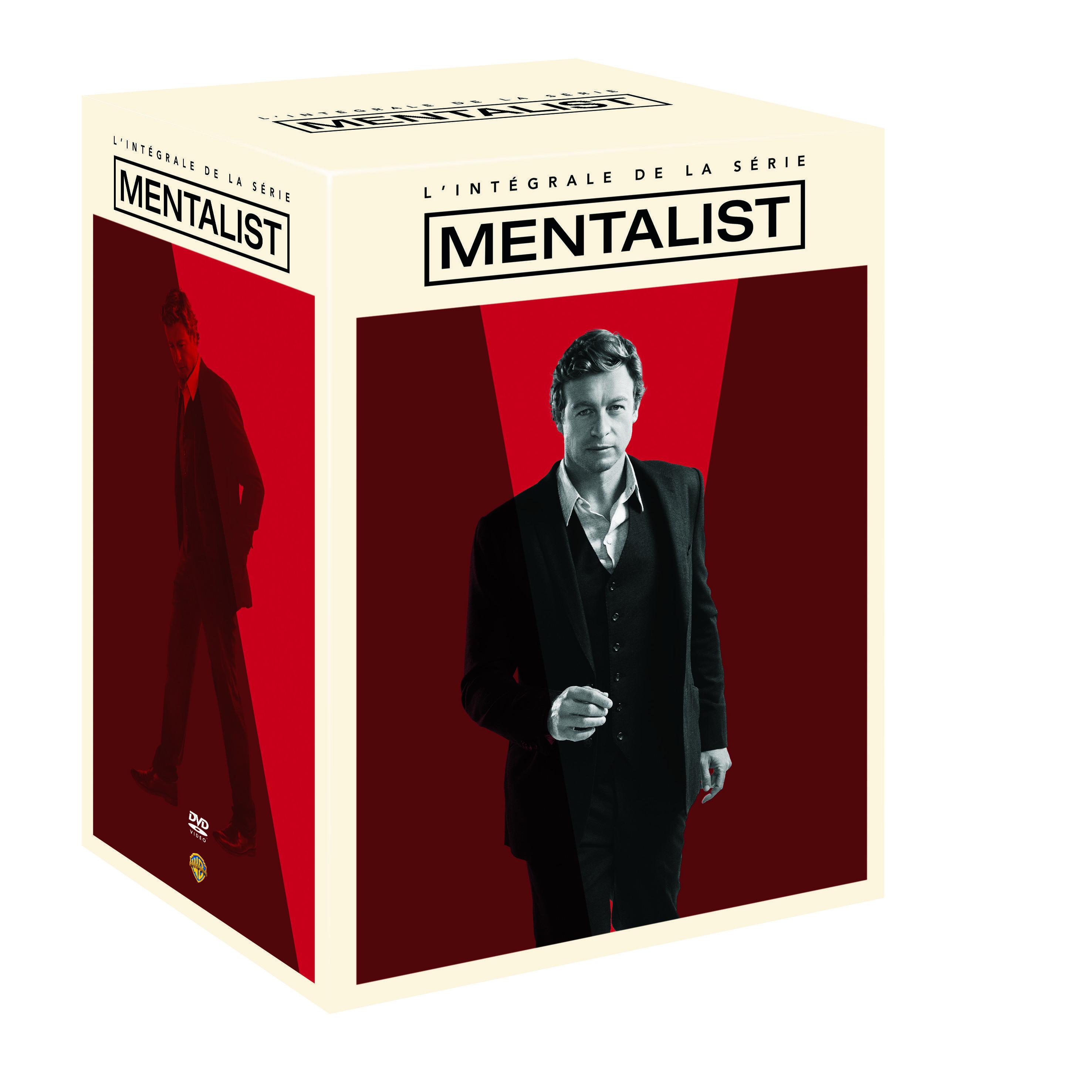 Intégrale Le Mentalist - DVD