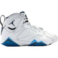 Nike - Basket Air Jordan 7 Retro GS, Blanc 304774-107-40