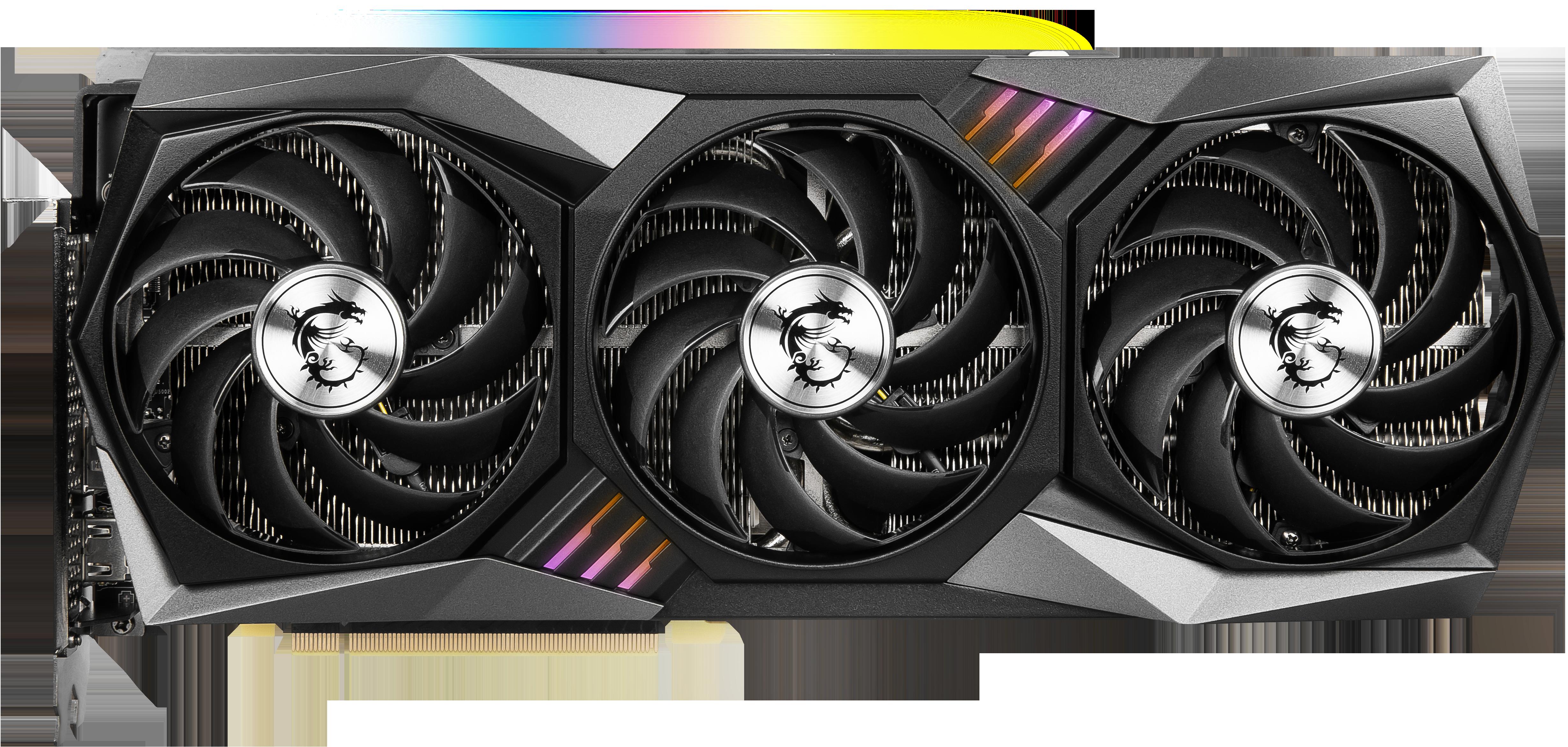 Carte graphique GeForce RTX 3080 GAMING X TRIO 10 Go MSI