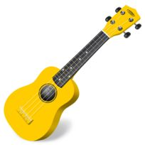 Classic Cantabile - Soprano Us-100 Ye Ukulélé jaune