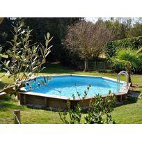 sunbay piscine bois violette 511 m x h 124 m - Liner Piscine Hors Sol Ronde 75 100