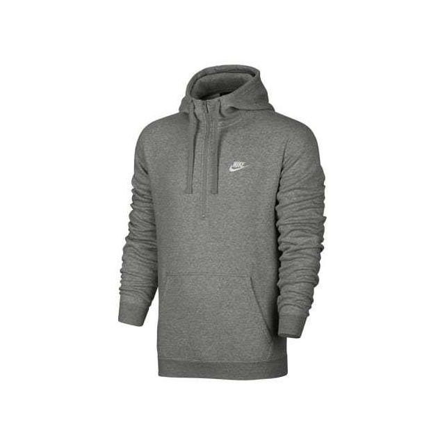 skate shoes cozy fresh new arrival Sweatshirt à capuche Sportswear Hoodie gris logo blanc
