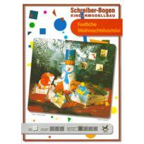 Schreiber-bogen - Maquette en carton pour enfants : Bricolage de fête de Noël