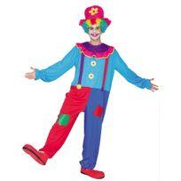 Euro Carnavales - Déguisement Clown Amusé - Adulte