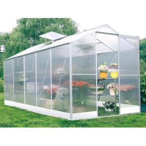 habitat et jardin serre jardin polycarbonate lilas 6m2. Black Bedroom Furniture Sets. Home Design Ideas