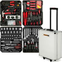 Rocambolesk - Superbe Valise Outil Trolley et 293 pièces Neuf