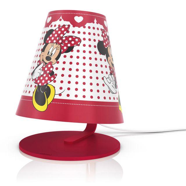 Philips Lampe de chevet Minnie Mouse Disney pas cher