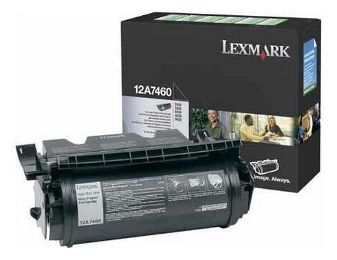 Lexmark Toner imprimante laser noir 12A7460