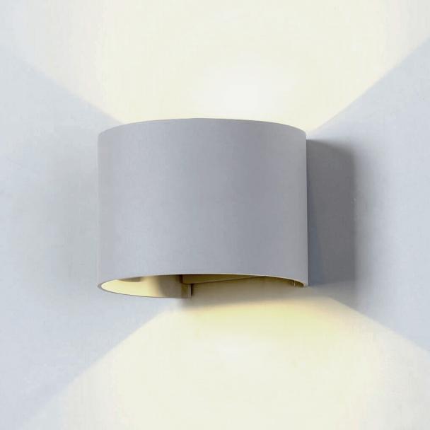 Kosilum Lampe de mur grise Led - Cosmic - En Soldes