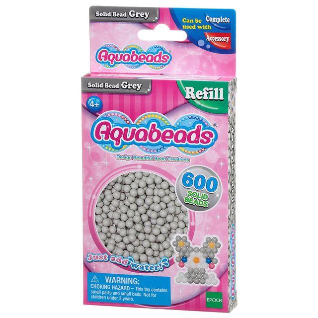 Aquabeads - Recharge de 600 perles grises