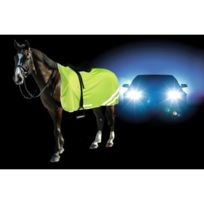 Kerbl - Couverture de sécurité réflectorisante pour chevaux - 145cm