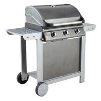 COOK'IN GARDEN - Barbecue gaz mixte à capot FIESTA 3 3 brûleurs