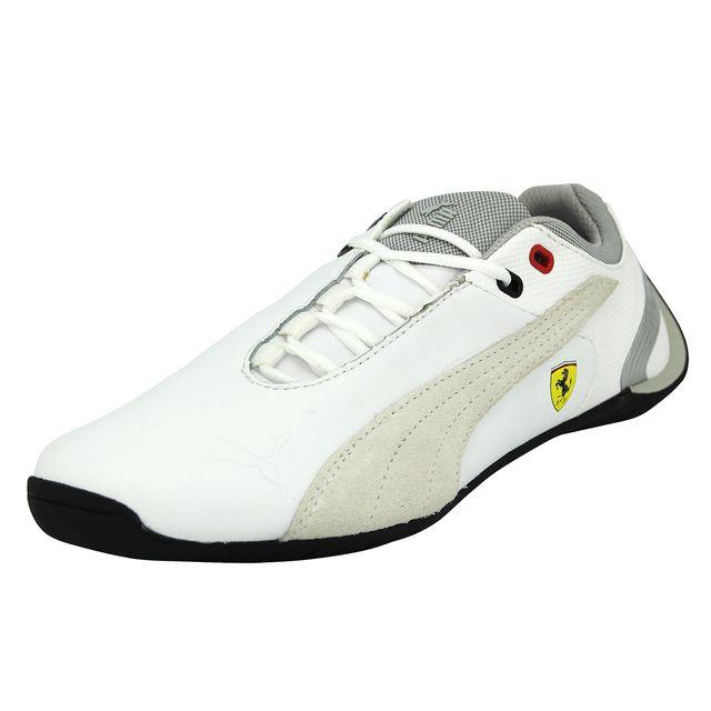 308022e7d53 Puma - Puma Junior Future Cat M2 Sf Ferrari Chaussures Mode Sneakers Enfant  Cuir Blanc Ortholite