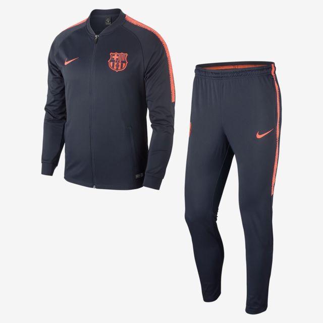f029b1be38 Nike - Fc Barcelona Dri-FIT Squad Adulte Bleu - pas cher Achat ...