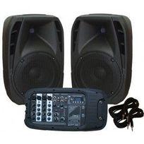 Ibiza - Systeme De Sonorisation Combo Portable 10 /25cm ? 300W