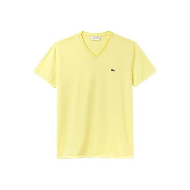 dda512ee264 Lacoste - T-shirt Homme - pas cher Achat   Vente Tee shirt homme -  RueDuCommerce
