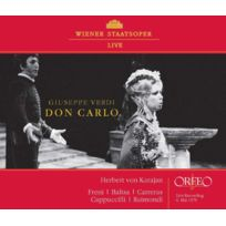 Orfeo d'Or - Giuseppe Verdi - Don Carlo Boitier cristal