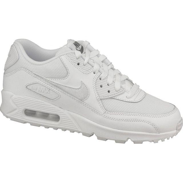 chaussures de sport 33a73 fd728 Air Max 90 Gs 724824-100 Blanc