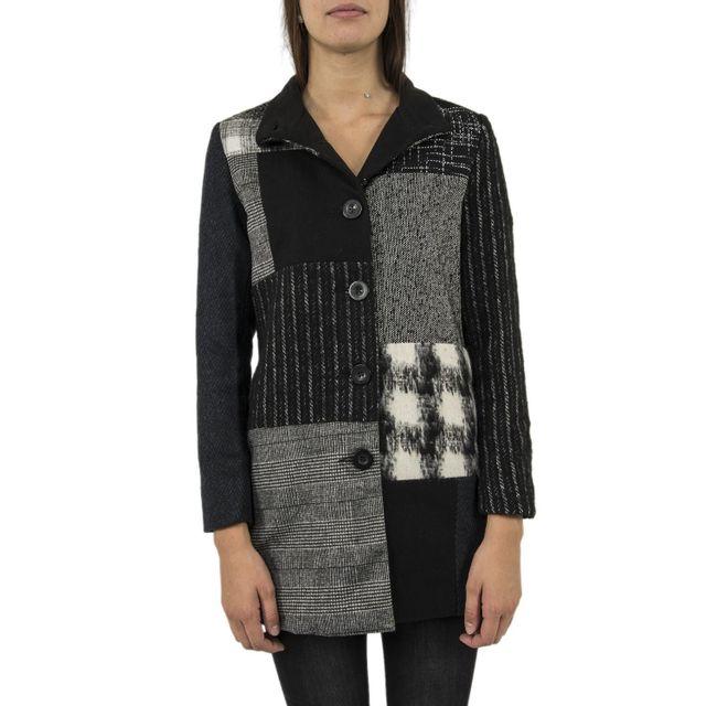 DESIGUAL Manteaux 17wwew29 rosita noir