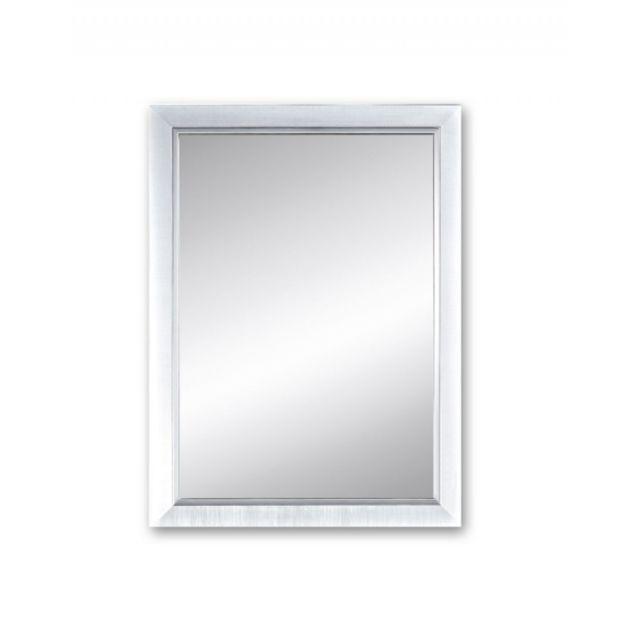 Deknudt Mirrors Miroir Bremen S Traditionnel Classique Rectangulaire Argenté 45x60 cm