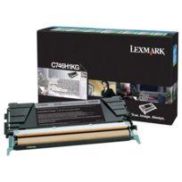 Lexmark - Toner c746h1kg noir haute capacité