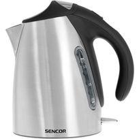 Sencor - Bouilloire électrique en acier inoxydable 2000W 1.7 litre Noire