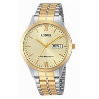 Lorus - Montre Homme Classique Acier Argentée et Dorée - Rxn08DX9