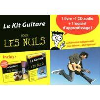 First Interactive - Méthodes Et Pédagogie Pour Les Nuls Kit Guitare + Cd + Logiciel Piano