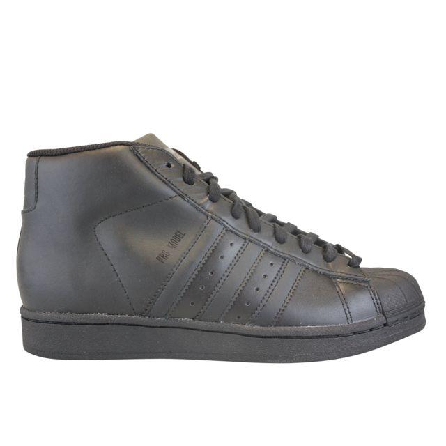 dbd29ce77993 Adidas originals - Pro Model Noir - pas cher Achat   Vente Baskets homme -  RueDuCommerce