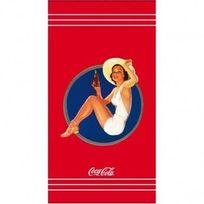 Coca-cola - Serviette de Plage Pin Up 85x160 cm