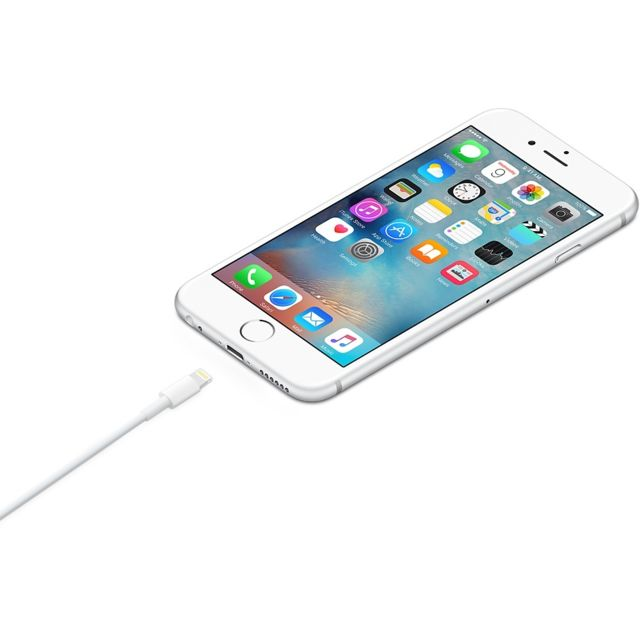 APPLE - iPhone Lightning to USB Cable - 2m - MD819ZM/A