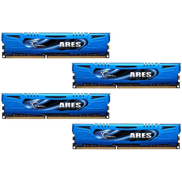 G.SKILL Ares Low Profile, 16 Go 4 x 4 Go DDR3 1600 MHz