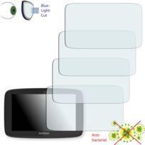 Disagu - TomTom Go 520 Film de protection d'écran - 4x ClearScreen pour TomTom Go 520 antibactérien, filtre lumière bleue