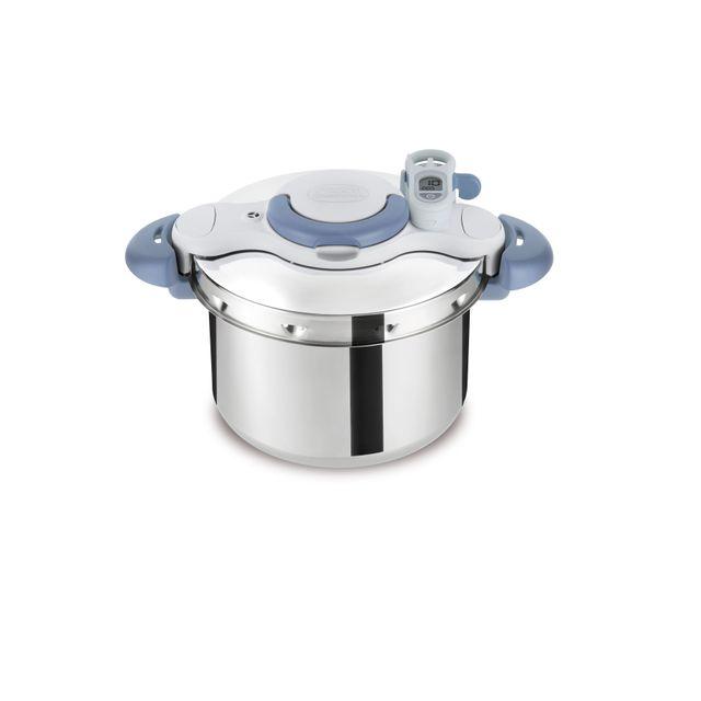 SEB - Autocuiseur CLIPSO MINUT PERFECT 7,5L - Gris - P4624801 7.5