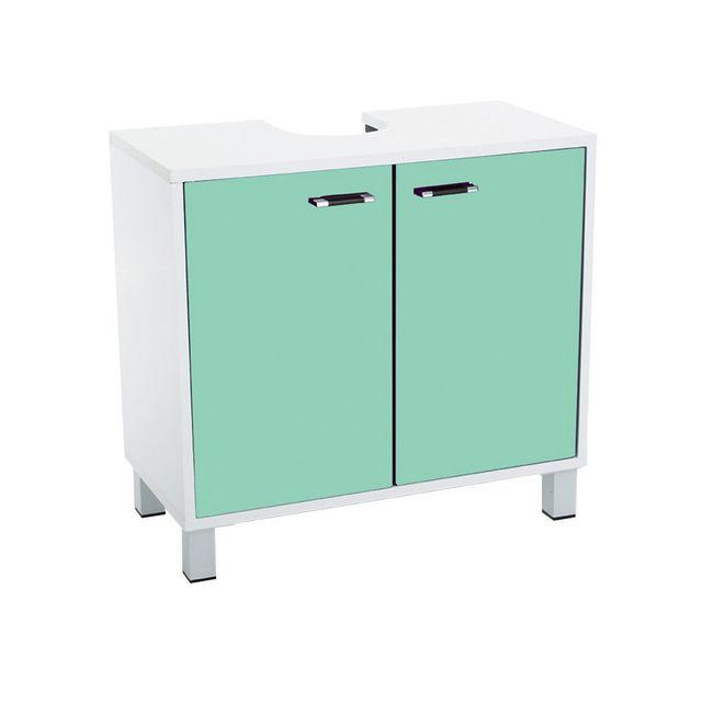 instant d 39 o meuble dessous de lavabo menthe pas cher. Black Bedroom Furniture Sets. Home Design Ideas