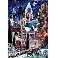HEYE - Puzzle 2000 pièces - Loup : Le château des horreurs