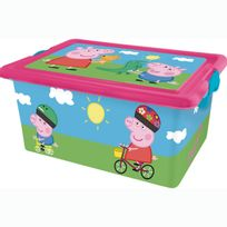 Mercier Toys - Peppa Pig - Boite de Rangement 13 L