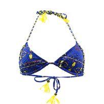 Kiwi - Maillot de bain Triangle Africain Bleu