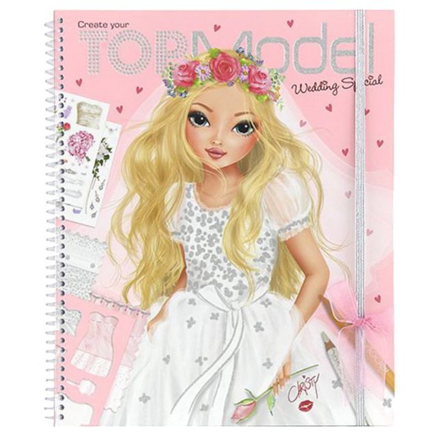 Topmania album coloriage mariage top model rose pas - Album de coloriage top model ...