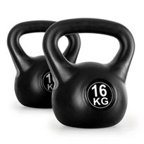 KLARFIT - Kettlebell set poids d'entrainement haltères 2x16kg