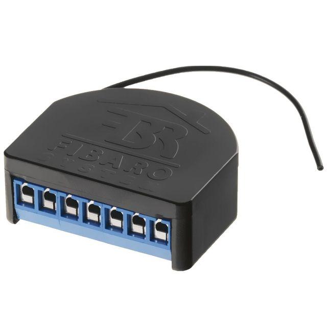 Fibaro - Controleur d'éclairage à distance Relay Switch 2x1,5kW 868,4 Mhz