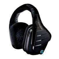 LOGITECH - Micro-casque sans fil 7.1 Surround Pro Gaming pour PC, Xbox One et PS4