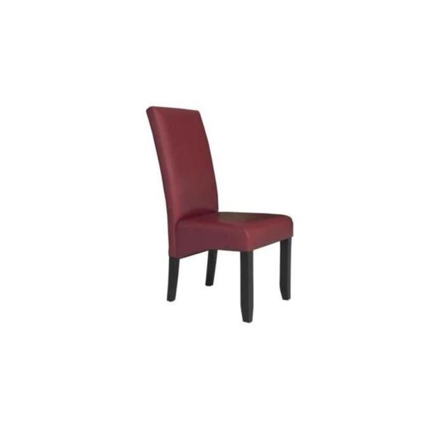 Marque Generique Chaise Cuba Lot de 2 chaises de salle a