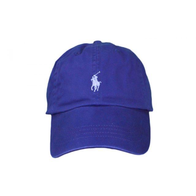 Ralph Lauren - Casquette basique bleu roi mixte - pas cher Achat   Vente  Casquettes, bonnets, chapeaux - RueDuCommerce 71572937c27