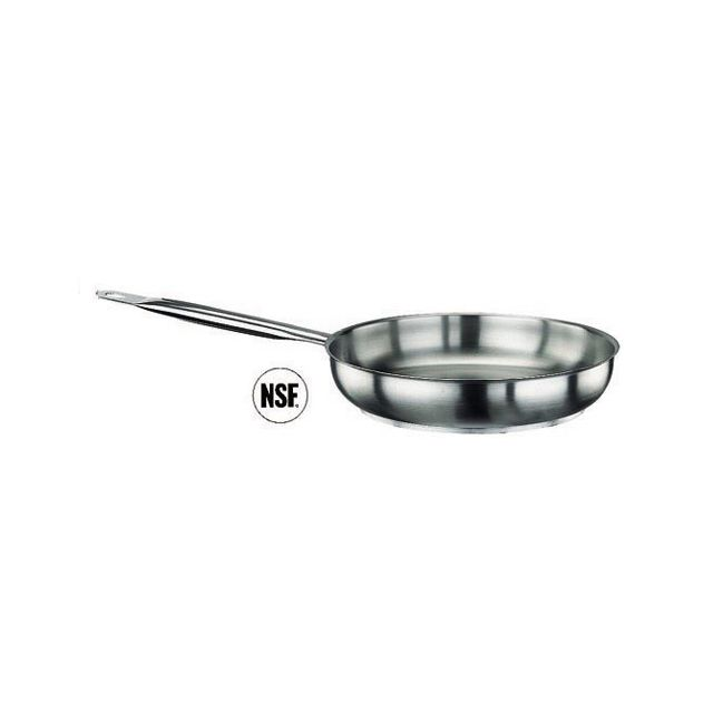 Paderno Poêle à frire induction en inox 18/10 - Ø 20 cm - Poêle série 1000