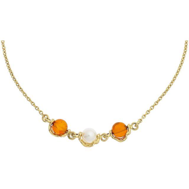 Jourdan - Collier Bijoux Plaqué or - pas cher Achat   Vente Chaînes,  colliers - RueDuCommerce 3796c8858c21