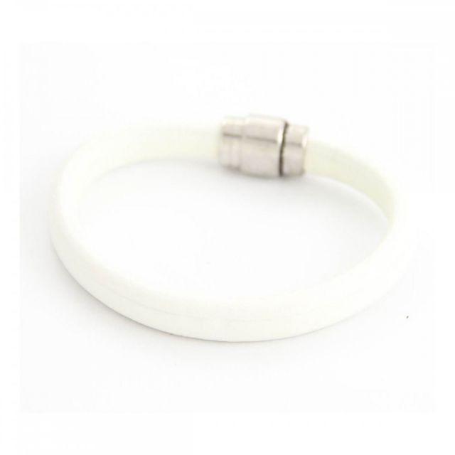Sans Marque - Bracelet Homme synthétique Blanc M H 968 Cuir - pas cher  Achat   Vente Bracelets - RueDuCommerce c418befc50e0