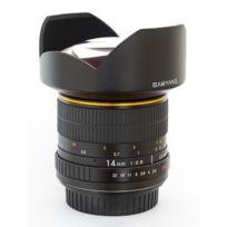 Samyang - 14 mm f/2.8 Ed As Umc Canon Garanti 2 Ans